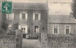53 -Très Belle Carte Postale Ancienne De Le   Hercé  Ecole Communale Mixte - Frankreich