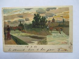 MUNCHEN   (  AN DER  SAR  )  ILLUSTRE PAR PAUL HEY   -  PRECURSEUR DE 1903           TTB - München