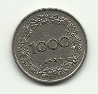 1924 - Austria 1.000 Kronen - Austria