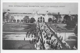 Irish International Exhibition 1907 - The Exhibition Opened - Dublin