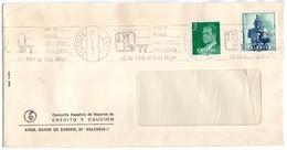 Carta Con Matasellos Commemorativo  Visite Feria Didastec-.papeleria De 1977 - 1931-Hoy: 2ª República - ... Juan Carlos I