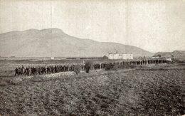 VYPÁLENÁ TRUECKÁ KULA DECIC, OD NIZ PRICHAZEJI CERNOHORCI SE ZAJATYMI TURKY - Montenegro