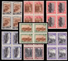 Congo 0196A 197/202** Parcs Nationaux En Bloc De 4 - Congo Belge