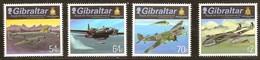 Gibraltar  2015 Micheln° 1693-1696 *** MNH Royal Air Force Aviation Vliegtuigen Airplanes - Gibraltar