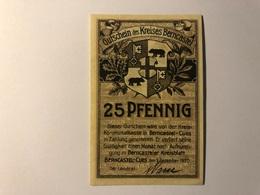 Allemagne Notgeld Berncastel 25 Pfennig - [ 3] 1918-1933 : République De Weimar