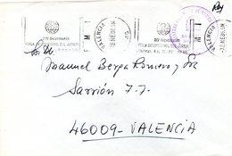 Carta Con Matasellos Feria Internacional Del Juguete  1986 - 1931-Hoy: 2ª República - ... Juan Carlos I