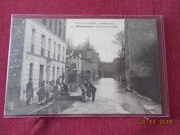CPA - Billancourt - Rue Gustave-Sandoz - (La Crue De La Seine, 30 Janvier 1910) - Boulogne Billancourt