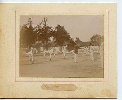 PHOTO VERS 1900 18è REGIMENT D'INFANTERIE ? LECON DE BOXE - Documents