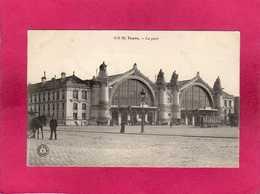 37 Indre Et Loire, Tours, La Gare, Animée, (Grand Bazar) - Tours