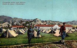 CRNOGORSKA STRAZA PRED TABOROM - GRADE DU CAMP A MONTENEGRO - Montenegro