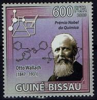 Guinea-Bissau 2009 - Otto Wallach, Deutscher Chemiker, Nobelpreis 1910 - MiNr 4340; - Prix Nobel