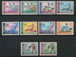 Ajman - 2529/ N°31/40 Jeux Olympiques (olympic Games) Tokoy 1964 ** MNH - Ete 1964: Tokyo