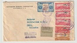 MiNr. 327 U.a. Guatemala / 1936, 1. Okt./1937, 1. Jan. Freimarken: Landschaften Der Karibikküste. - Guatemala