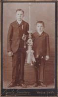 Photos  Anciennes CDV Wasselonne Enfants 1er Communion Photo E Grenier Dijon  N° 309 - Photos