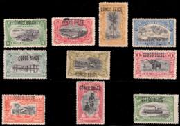 Congo 0030/39L* Type L  / -H- - Belgian Congo