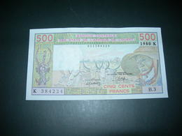 Afrique Dell'Ouest 500 Francs 1980 - Autres - Afrique