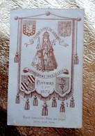 Image Religieuse - NOTRE DAME DES CLEFS à NOTRE DAME DE LOURDES - POITIERS 1872 - Images Religieuses