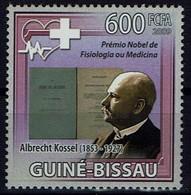 Guinea-Bissau 2009 - Albrecht Kossel, Deutscher Physiologe Und Proteinforsch, Nobelpreis 1910 - MiNr 4339 - Prix Nobel