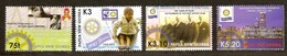 Papouasie Papua New Guinea 2005 Yvert 1038-1041 *** MNH Cote 12,00 Euro Rotary Club - Papouasie-Nouvelle-Guinée