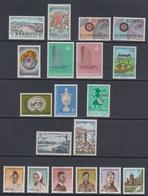 1967 ** Luxemburg (sans Charn., MNH, Postfrish) Complete   Mi 746/64   Yv 697/15  (19v) - Ganze Jahrgänge