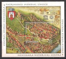 Rumänien  (2009)  Mi.Nr.  Block 449  Gest. / Used  (4bl-01.8)  UNESCO - 1948-.... Repúblicas