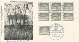 BERLIN FDC 1961 - Berlin (West)