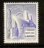 ITALY 1983 Mi 1838** Day Of Labor - Ship [L 322] - Ships