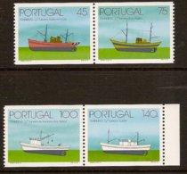 PORTUGAL 1994 Mi 2037-40C Pairs** Fishing Boats [L 324] - Ships