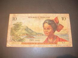 Guyana - Guadalupe 10 Francs - Guyana