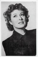 Greer Garson - Autograph Portrait Series 130 - Actors