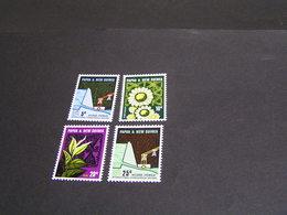 PAPUA 1967 Set 114/117 MNH; - Papua New Guinea