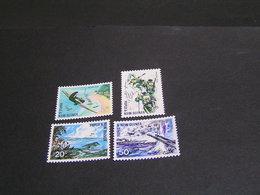 PAPUA 1967 Set 118/121 MNH; - Papua New Guinea