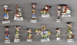 Série Complète 12 Fèves Brillantes LUCKY LUKE 1999 Alcara - Cartoons
