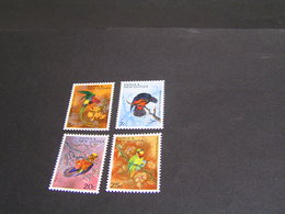 PAPUA 1967 Set 122/125 MNH; - Papua New Guinea