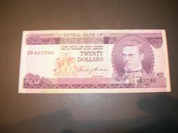 Barbados  20 Dollars - Barbados