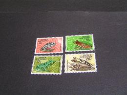 PAPUA 1968 Set 130/133 MNH; - Papua New Guinea