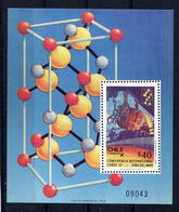 1987 Chile MNH Block  Copper Smelter - Chile