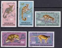 REPUBBLICA CENTROAFRICANA 1971 SCIMMIE - Repubblica Centroafricana