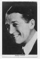 Maurice Chevalier - Plain Back - Actors