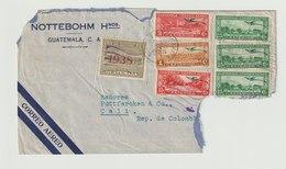 MiNr. Verschiedene Guatemala / 1936, 1. Okt./1937, 1. Jan. Freimarken: Landschaften Der Karibikküste. - Guatemala