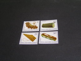 PAPUA 1969 Set 166/169 MNH; - Papua New Guinea