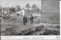 Cpa HEBUTERNE-62- Pas De Calais-Après Le Bombardement- édition Patriotique-Visa IML - Guerre 1914-18