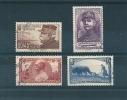 France Timbres De 1940 N°454/57 (oeuvres De Guerre)  Oblitéré (cote 31€) - Usados
