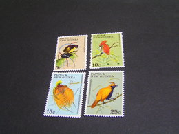 PAPUA 1970 Set 174/177 MNH; - Papua New Guinea