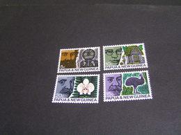 PAPUA 1970 Set 184/187 MNH; - Papua New Guinea
