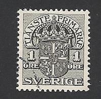 Schweden, Dienstpost, 1910, Michel-Nr. 17, Gestempelt - Servizio
