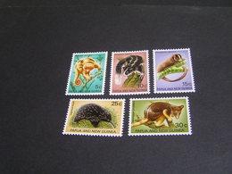 PAPUA 1971 Set 196/200 MNH; - Papua New Guinea
