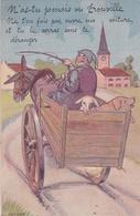 ¤¤  -  TROUVILLE   -  Carte à Système   -   Attelage , Cochon , Mouton , Cheval  -  ¤¤ - Trouville