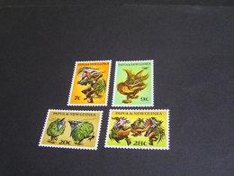 PAPUA 1971 Set 209/212 MNH; - Papua New Guinea