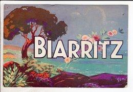 Cpa Carte Postale Ancienne - Biarritz Illustrateur Sem - Biarritz